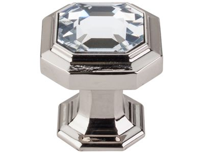 Top Knobs introduces new Chareau Crystal knobs, precious jewelry for the kitchen. Credit - Top Knobs