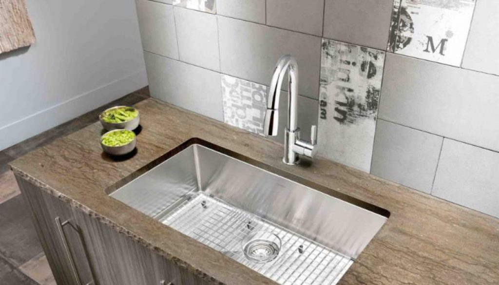 BLANCO'S revolutionary new QUATRUS™ R15 stainless steel kitchen sink.