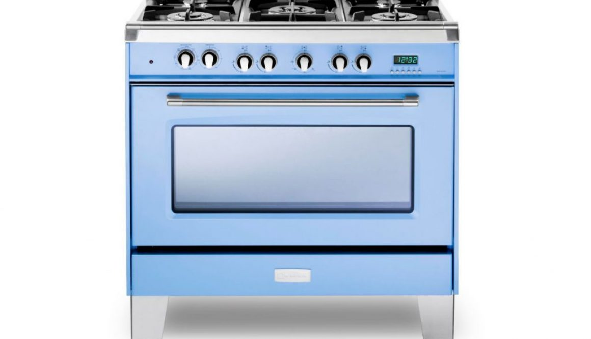 Verona introduces a new light blue color option to the Classic series of professional ranges large