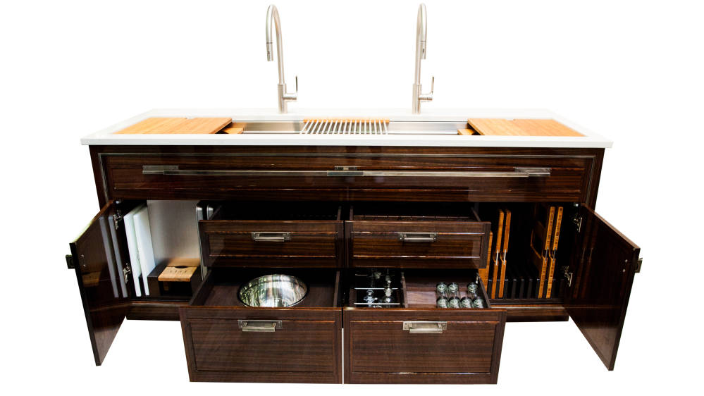 The Galley 7' Dressere in Fumed Eucalyptus - Photo Credit - The Galley