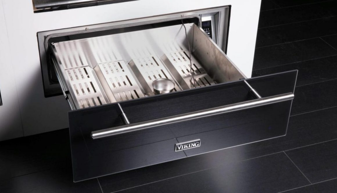Viking Range New Warming Drawer and Slow Cooker. Photo Credit Viking Range