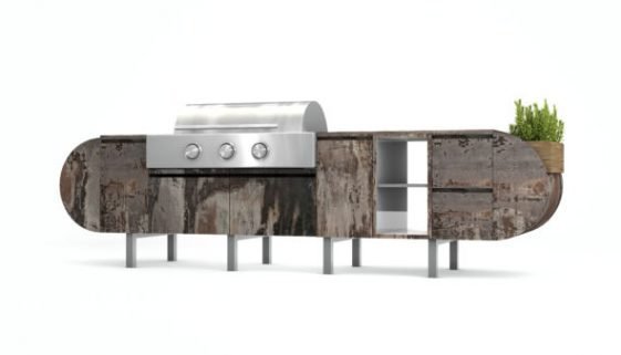 ASA-D2 by Daniel Germani Named Finalist for 2017 NYCxDESIGN Award. Photo Credit - Brown Jordan Outdoor Kitchens