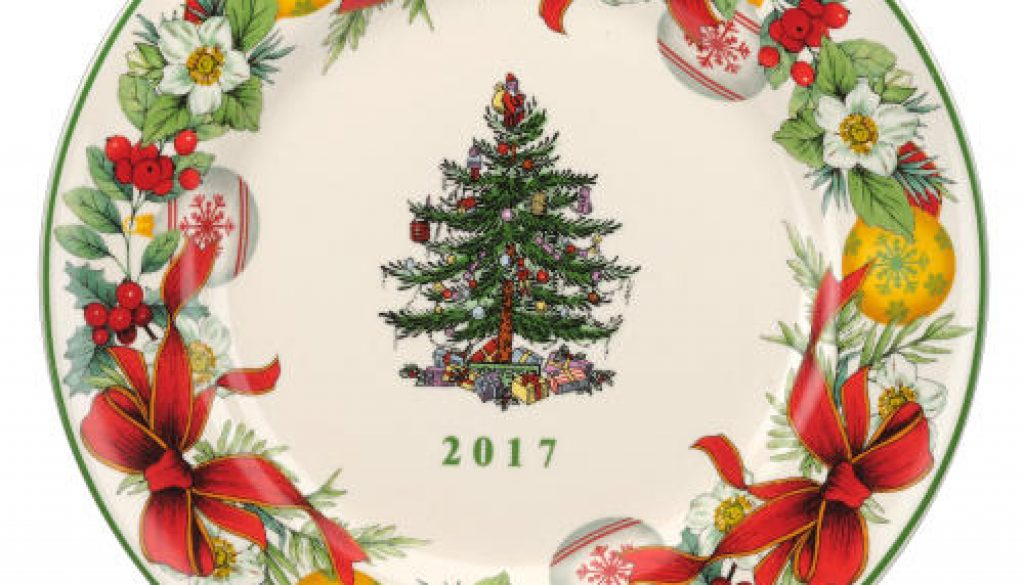 Portmeirion® Group launches 2017 Spode® Christmas Tree Collection. Copyright Portmeirion